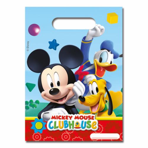 6st Feestzakjes Mickey Mouse