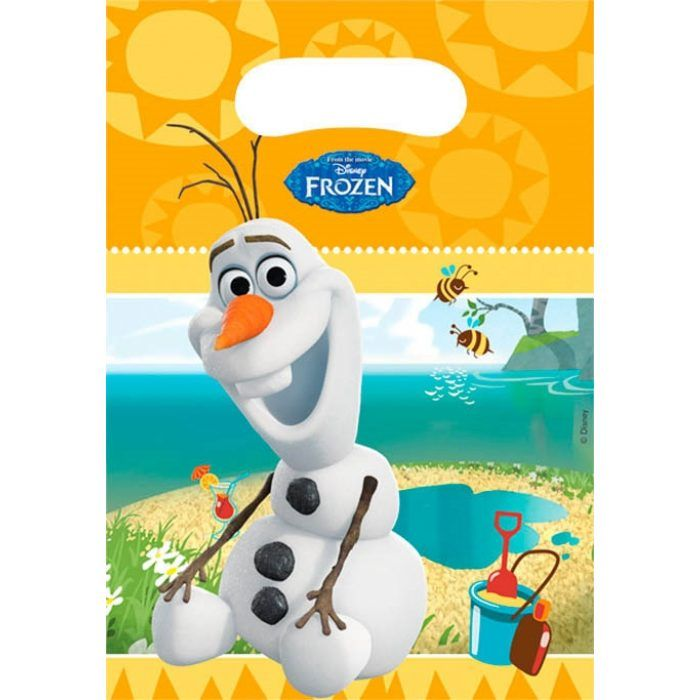 6st Feestzakjes Olaf