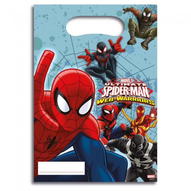 6st Feestzakjes Spiderman