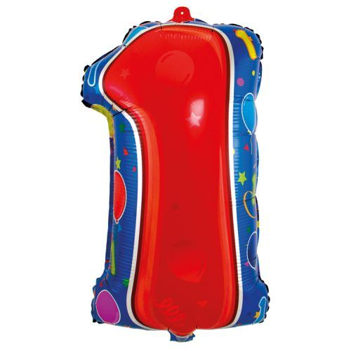 Folieballon Junior Shape 1 jaar 56cm