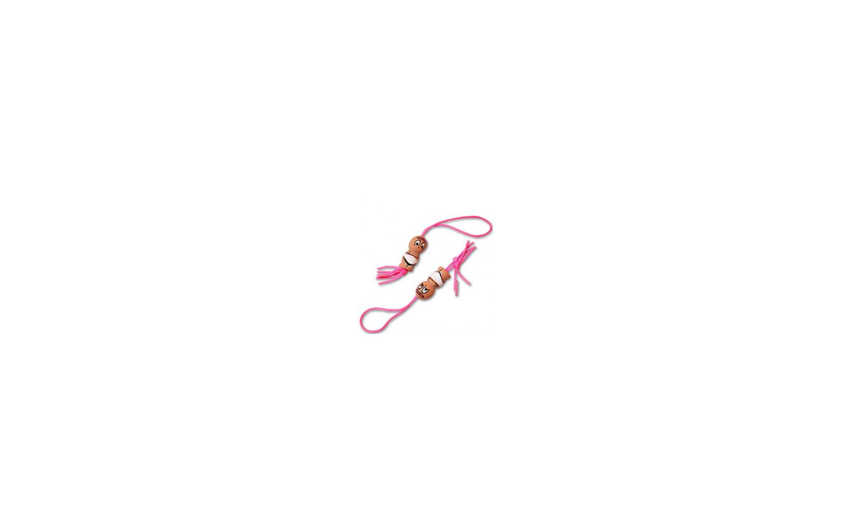10st Gelukspoppetjes 15mm Baby Roze