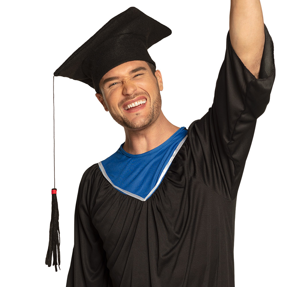 Geslaagd/Studenten Hoed Zwart Zacht Vilt
