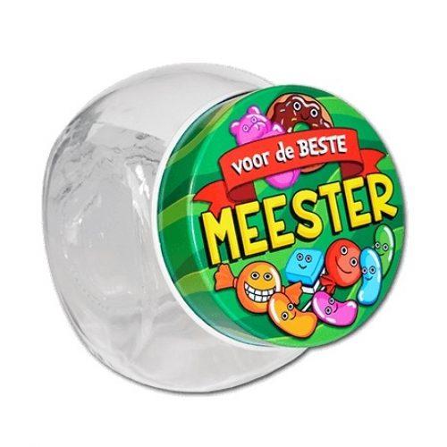 Glazen Snoeppotje-Meester