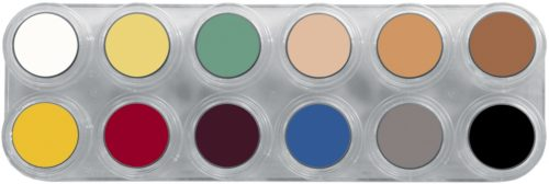Grimas Creme Make-up Palet 12kleuren L