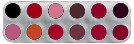Grimas Lipstick 12kl Palet LF