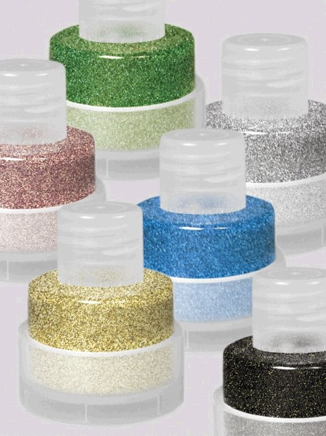 Grimas Poly Glitter Wit/Paars-06 25ml