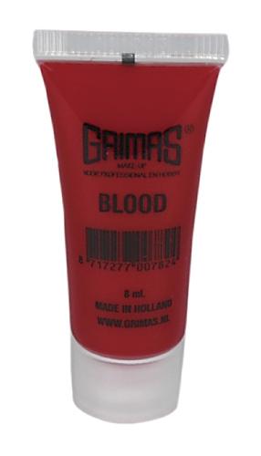 Grimas Tube bloed 8ml