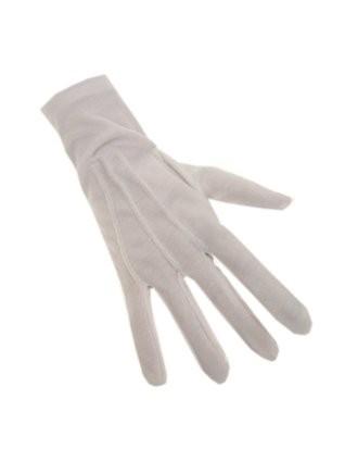 Handschoenen Kort Wit Katoen/Polyester