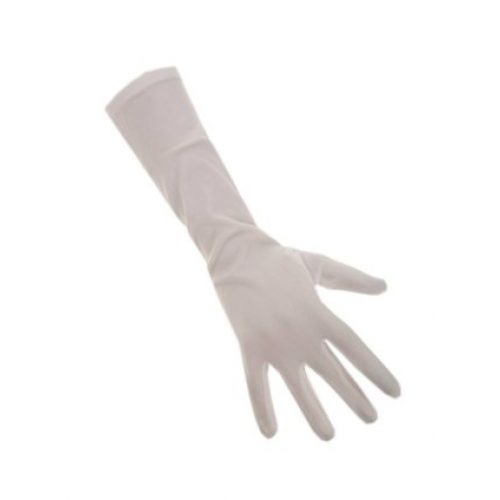 Handschoenen Lang Stretch Wit