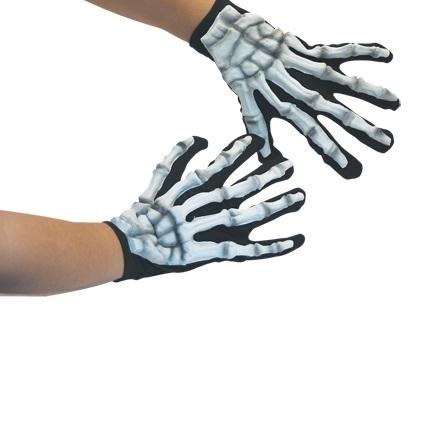 Handschoenen Skelet Glow in Dark