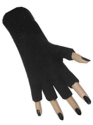 Handschoenen Vingerloos Zwart