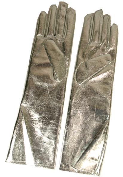 Handschoenen Zilver Lang 40cm