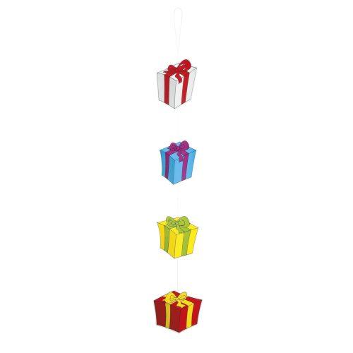 Hangdecoratie Cadeautjes 100cm