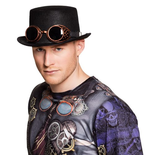 Hoge Hoed Steampunk Steamgoggles