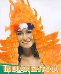 Indianen Tooi Oranje