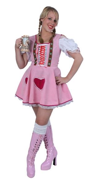 Jurkje Herzlein Roze Dames