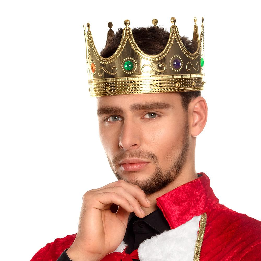 Koningskroon Goud Volwassenen