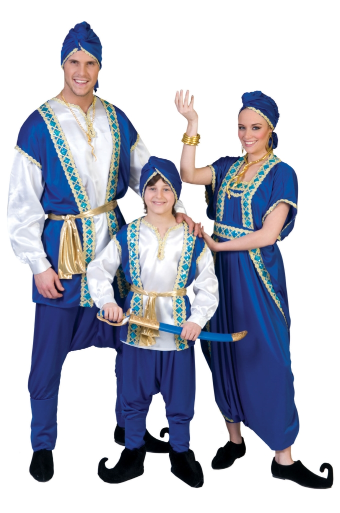 Kostuum Arabier Luxe Heren