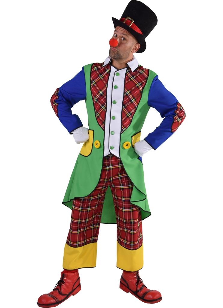Kostuum Clown Pipo Compleet Volwassen