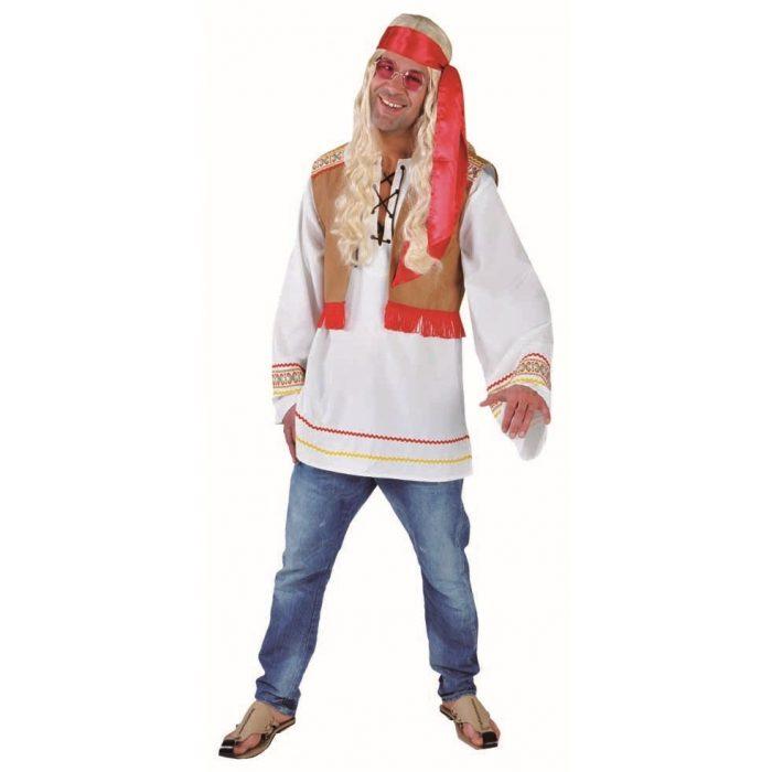 Kostuum Hippie 2-delig Heren