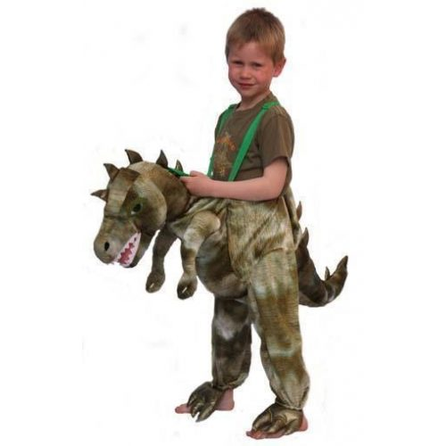 Kostuum Jump-in Dinosaurus Kind One Size