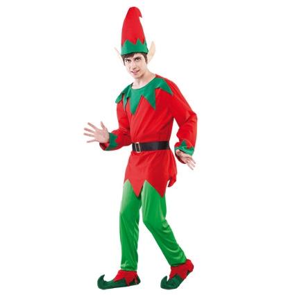 Kostuum Kerst Elf Heren