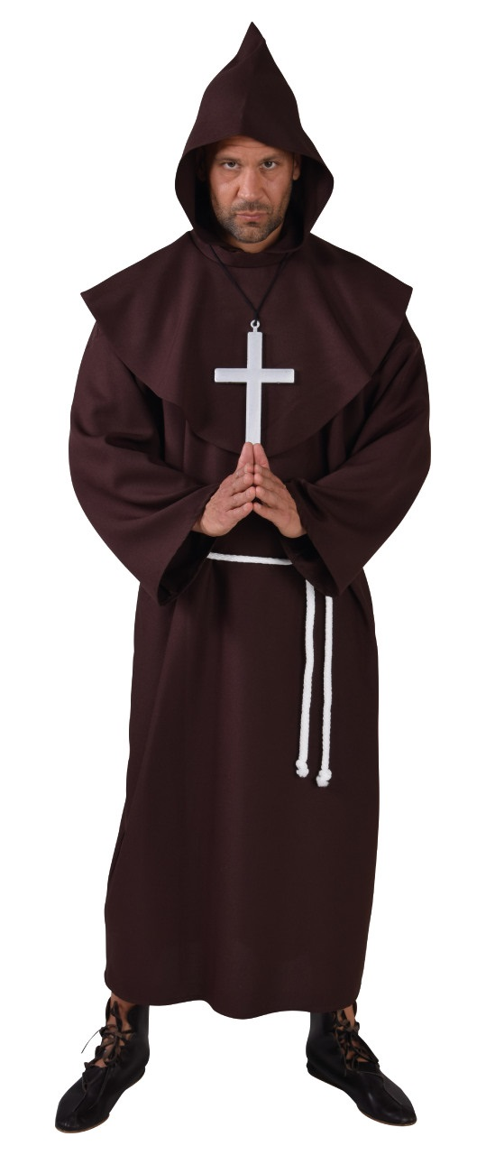 Kostuum Pater Luxe Heren