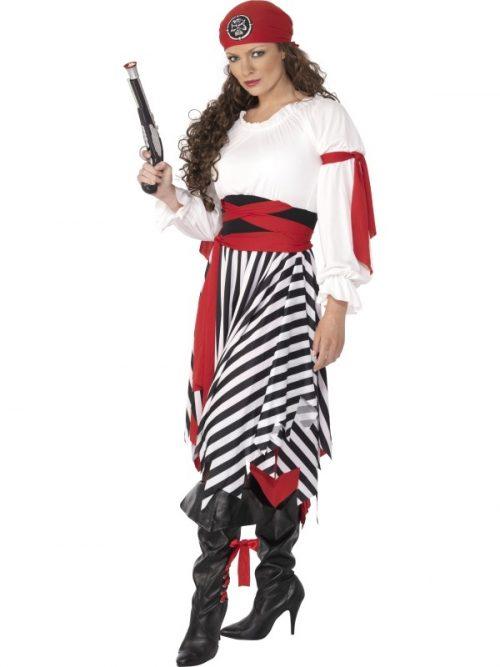 Kostuum Piraat Dames Mt.M