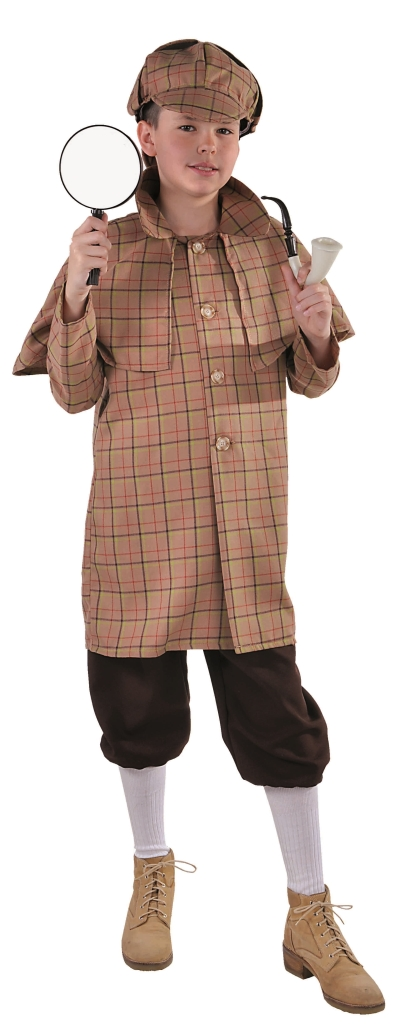 Kostuum Sherlock Holmes Kind