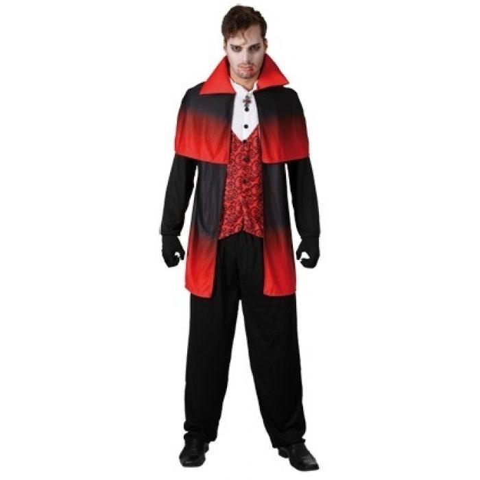 Kostuum Vampier Heren One Size