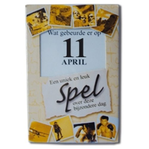 Kroniek Spel 11 April