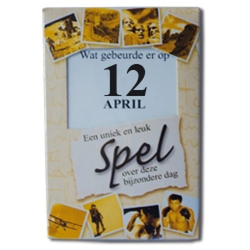 Kroniek Spel 12 April