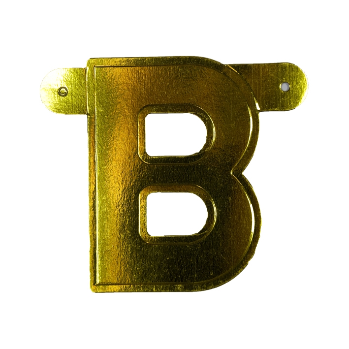 Letterslinger Letter-B Goud