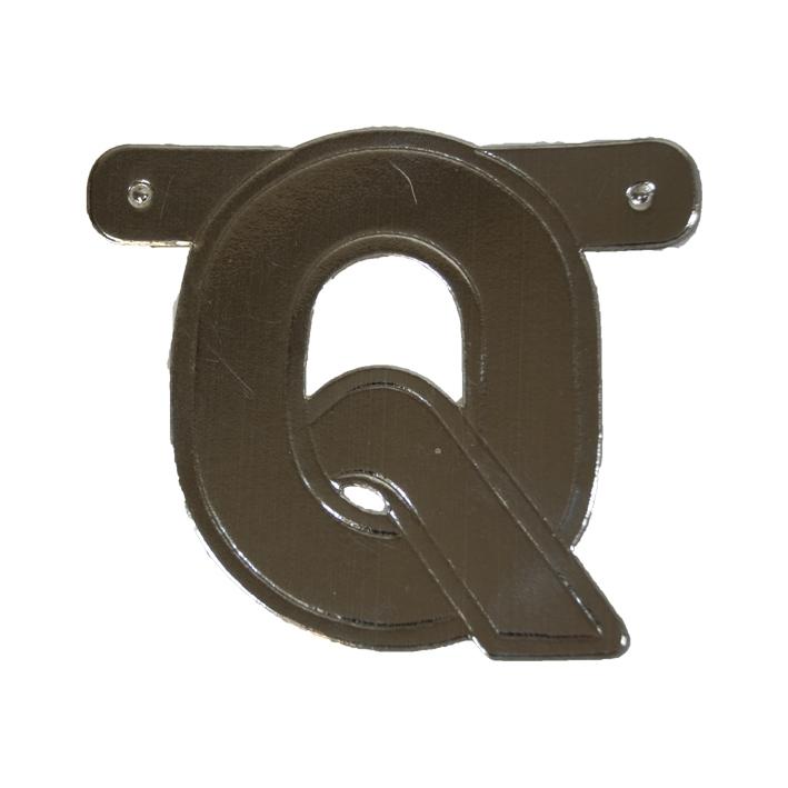 Letterslinger Letter-Q Zilver
