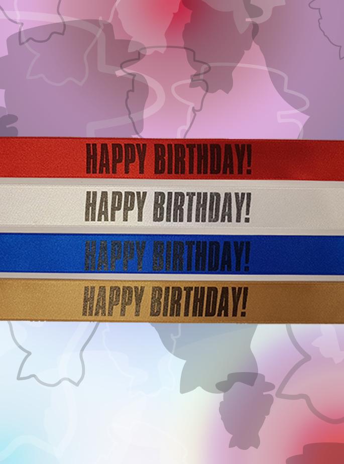 Lintje ''HAPPY BIRTHDAY!'' Rood