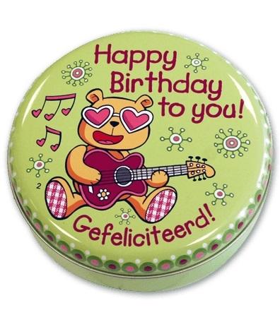 Lovely Tins Nr.02 Happy Birthday