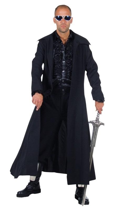 Mantel Zwart Volwassen