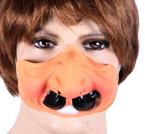 Plastic Masker Bolle Wangen Man