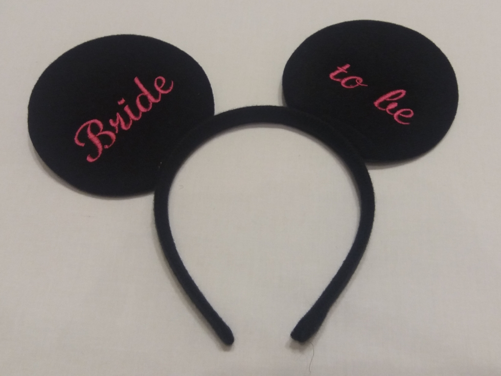 Mickey Mouse Oren Diadeem Bride To Be