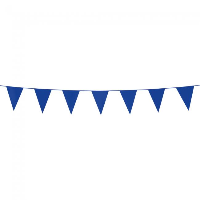 3m Mini Vlaggenlijn Uni Blauw