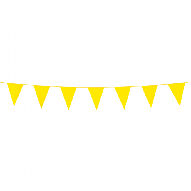 3m Mini Vlaggenlijn Uni Geel