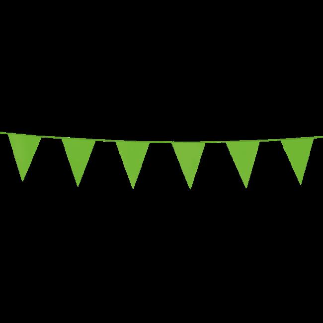 3m Mini Vlaggenlijn Uni Lime Groen