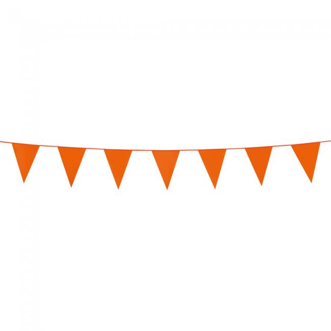 3m Mini Vlaggenlijn Uni Oranje