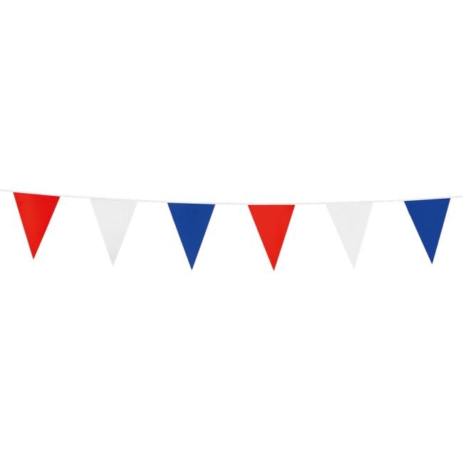 3m Mini Vlaggenlijn Uni Rood/Wit/Blauw