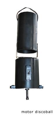 Motortje voor Discobal 20/30c Batterij