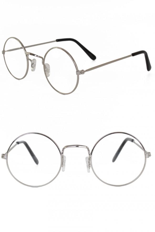 Oma Bril zonder Glas Zilver