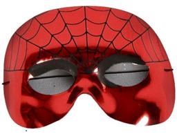 Oogmasker Spiderman Rood Glanzend
