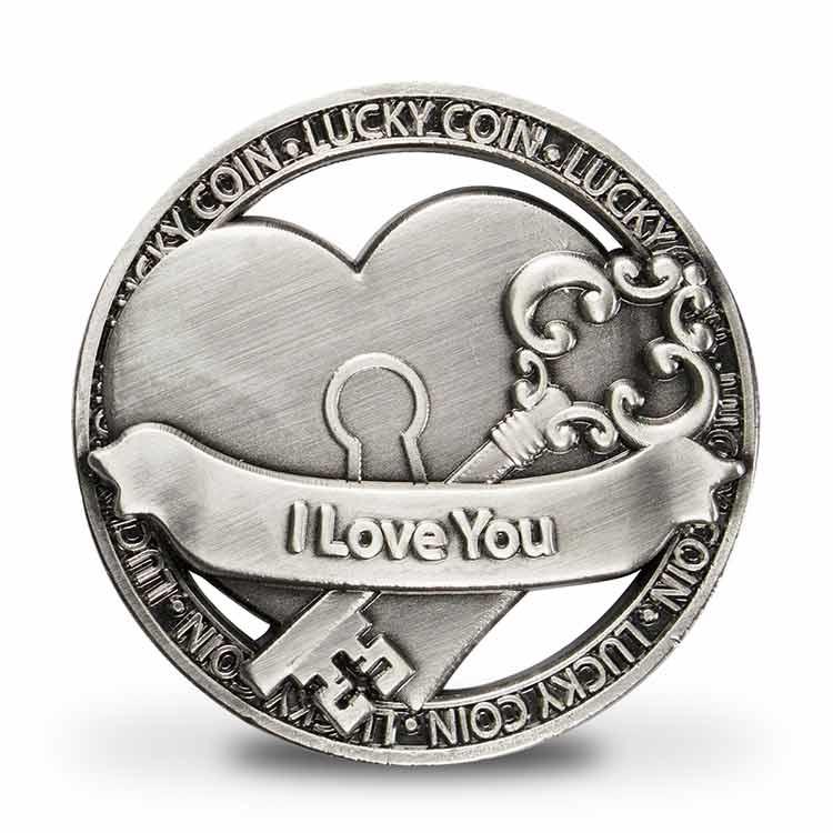 Open Geluksmunt I Love You