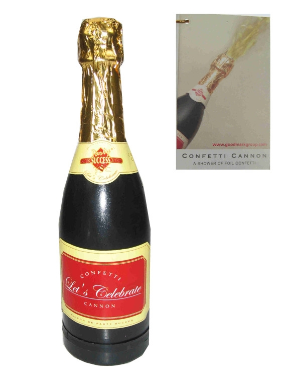 Party Confetti Champagnefles