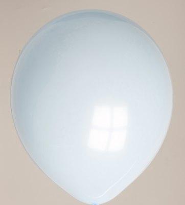 "100st Pastel Ballonnen 12"" Baby Blauw-002"